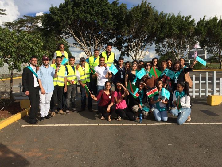IMG_5881-Aga Khan Volunteers at Nairobi airport