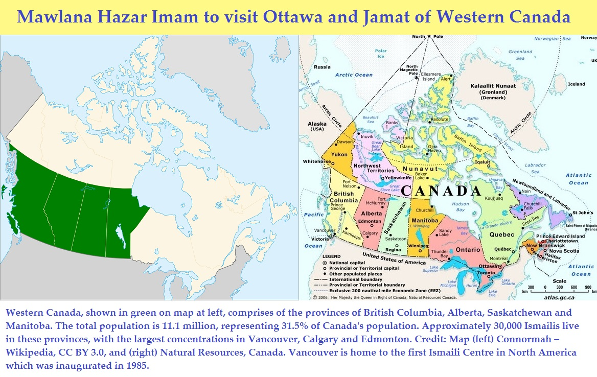 Forgiveness, Imamat and path to enlightenment of the soul: Important notes for Jamats in Western Canada as they prepare for Hazar Imam's holy visit