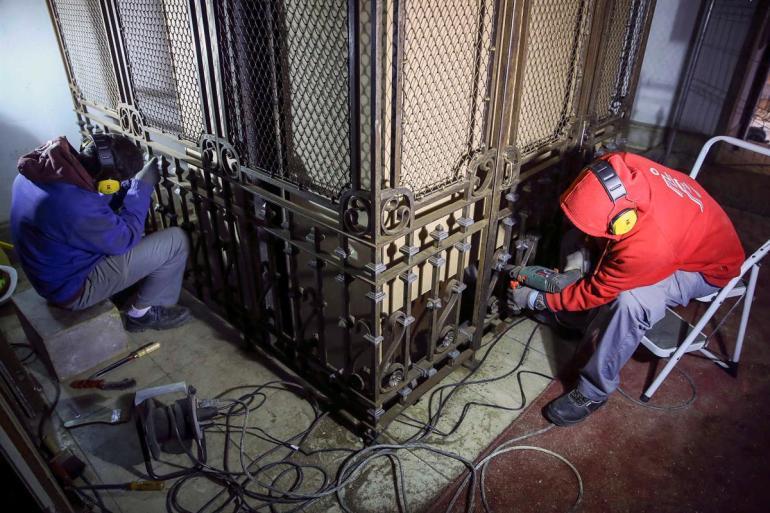 Seat of Imamat Palacete Mendonca Restoration 010