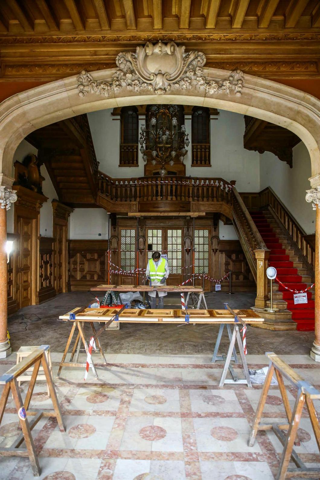 Seat of Imamat Palacete Mendonca Restoration 016