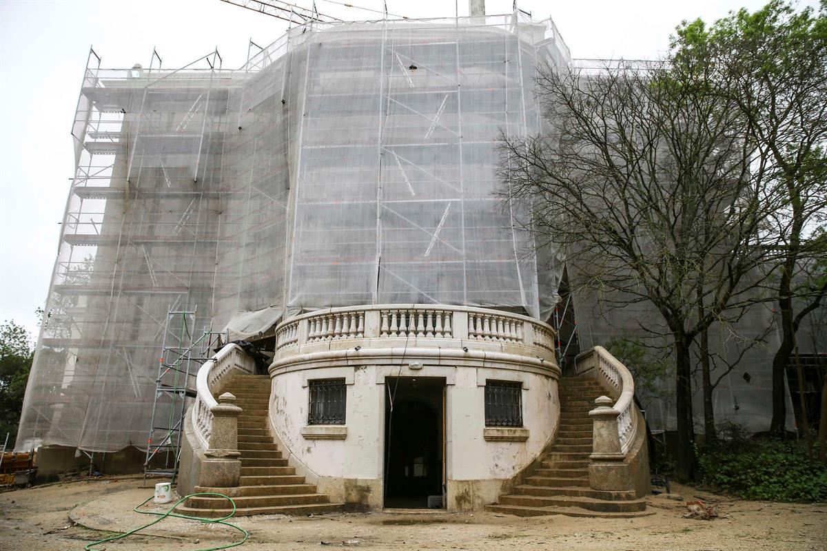 Seat of Imamat Palacete Mendonca Restoration 020