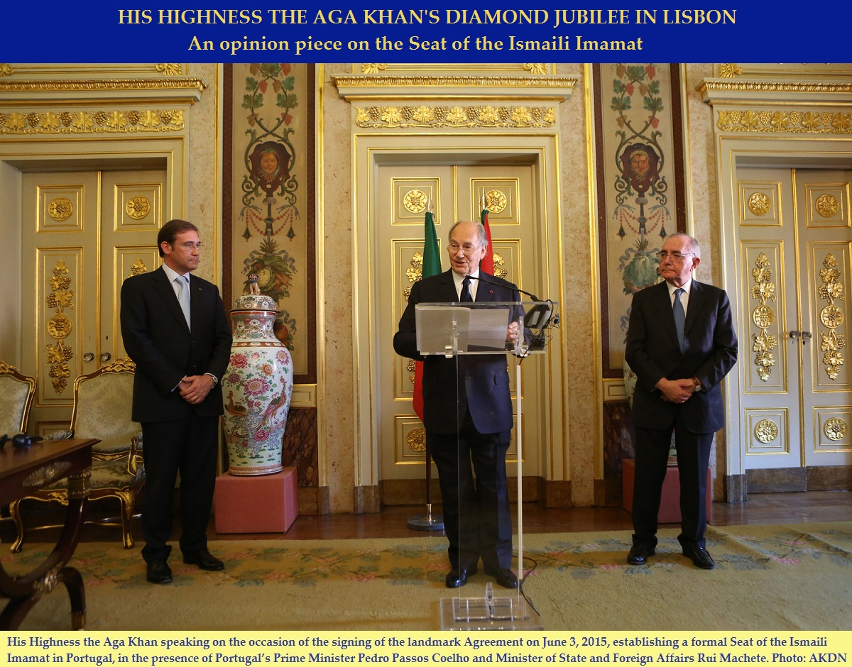 Opinion piece: Seat of the Ismaili Imamat and the Aga Khan network in Portugal
