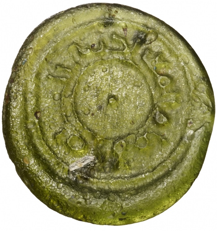 a_m_Fatimid glass Imam Muizz_weights_-_gw079