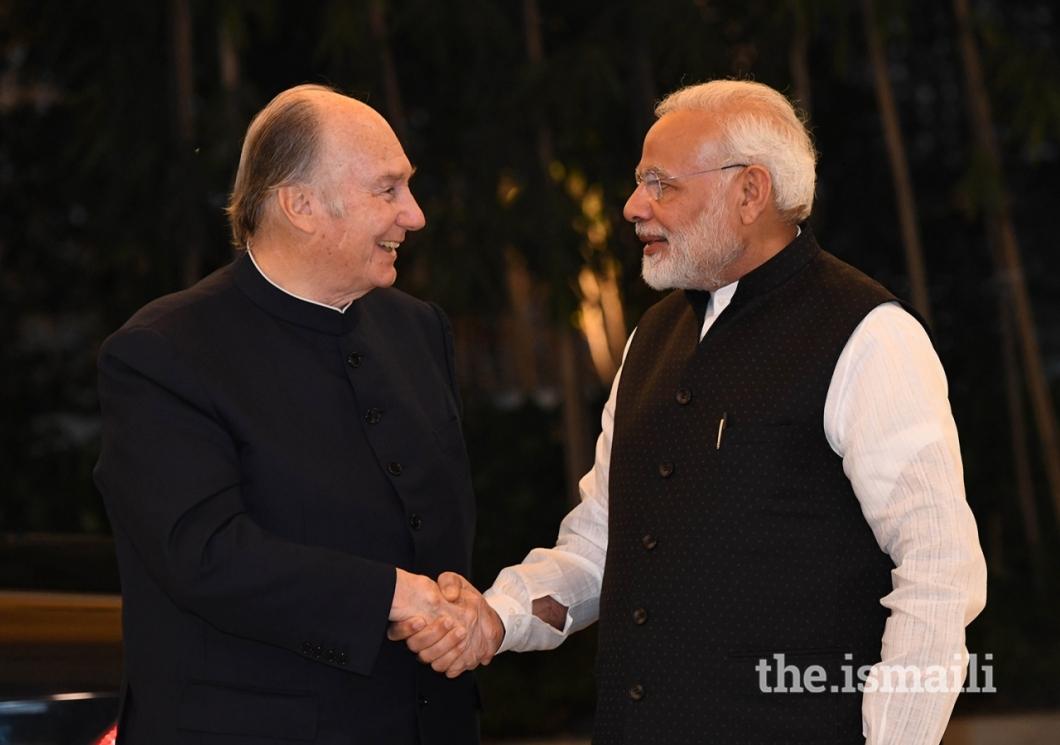 Aga Khan and PM Modi