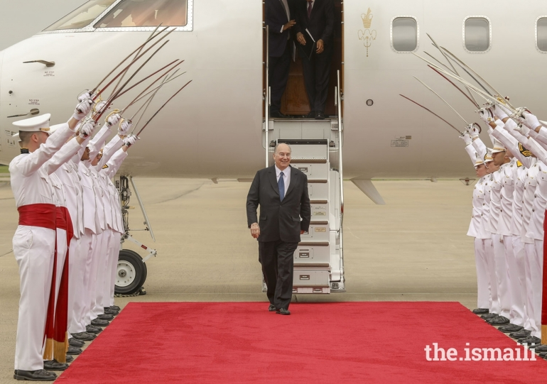 Aga Khan Diamond Jubilee Texas visit