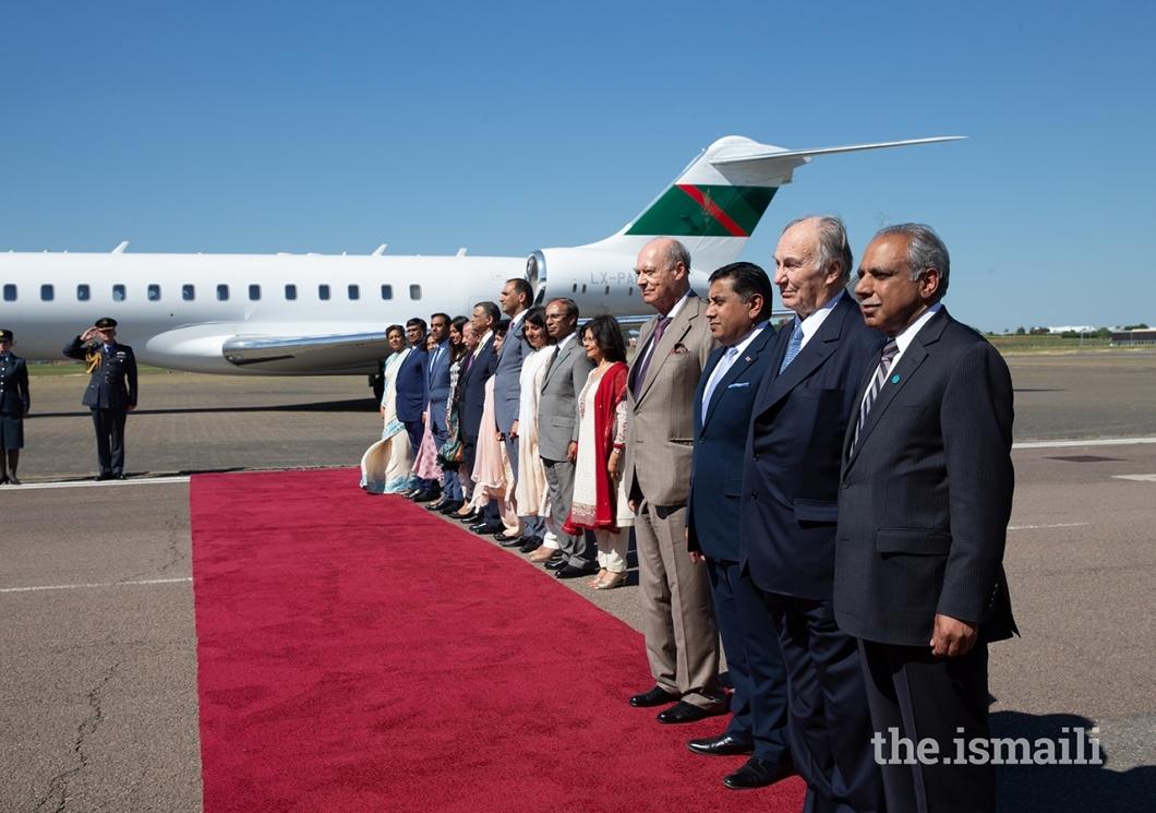Aga Khan Diamond Jubilee visit UK 002