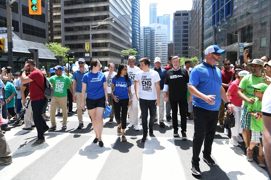 Video and Tweets: Prince Aly Muhammad Aga Khan at 2018 World Partnership Walk in Toronto on Father's Day