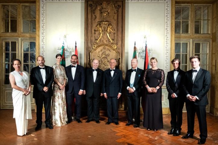 Aga Khan family with Portuguese president