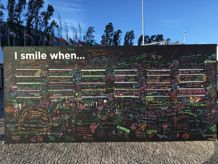 Aga Khan DJ Sentiment Wall I smile when 001