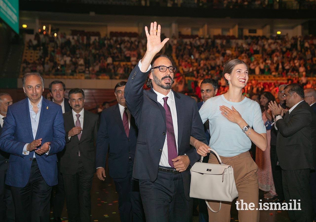 Prince Rahim Aga Khan and Princess Salwa Barakah Lisbon barakah.com tribute to prince rahim aga khan