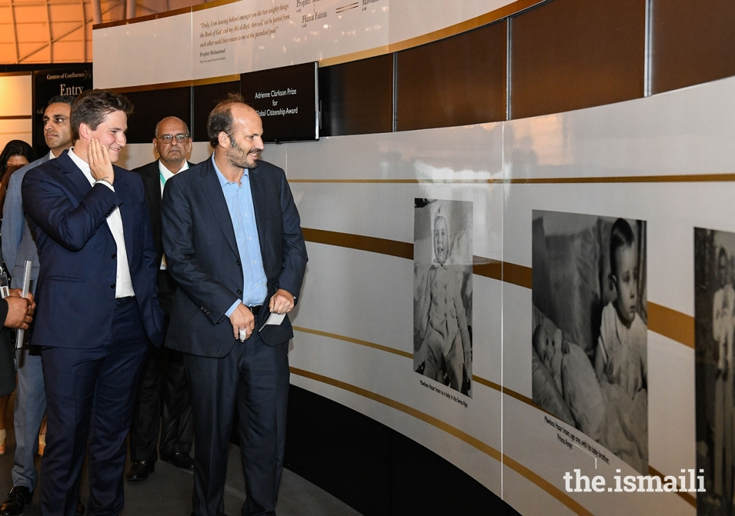 aziz_ajaney_Aga Khan Diamond Jubilee Prince Hussain and Prince Aly Muhammad