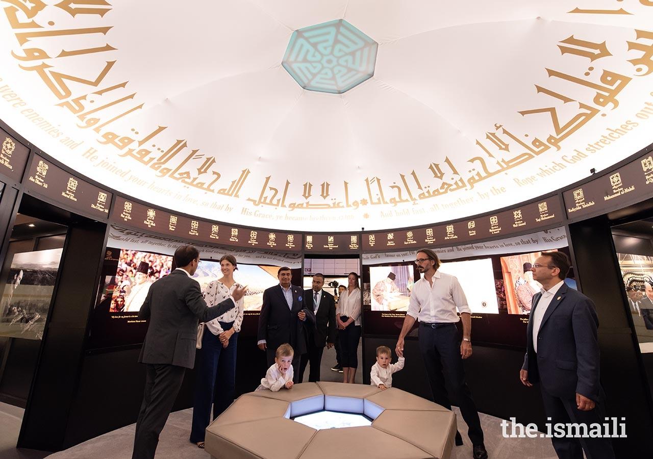Prince Rahim Aga Khan Family in Lisbon for the Diamond Jubilee of His Highness the Aga Khan, Barakah.com tribute