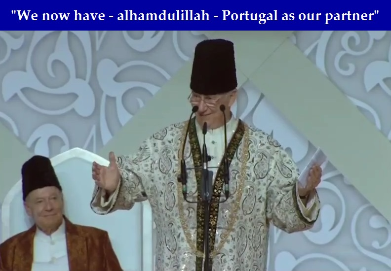 Portugal President's surprise Darbar visit in Lisbon: A highpoint during Mawlana Hazar Imam's Diamond Jubilee; includes video clip