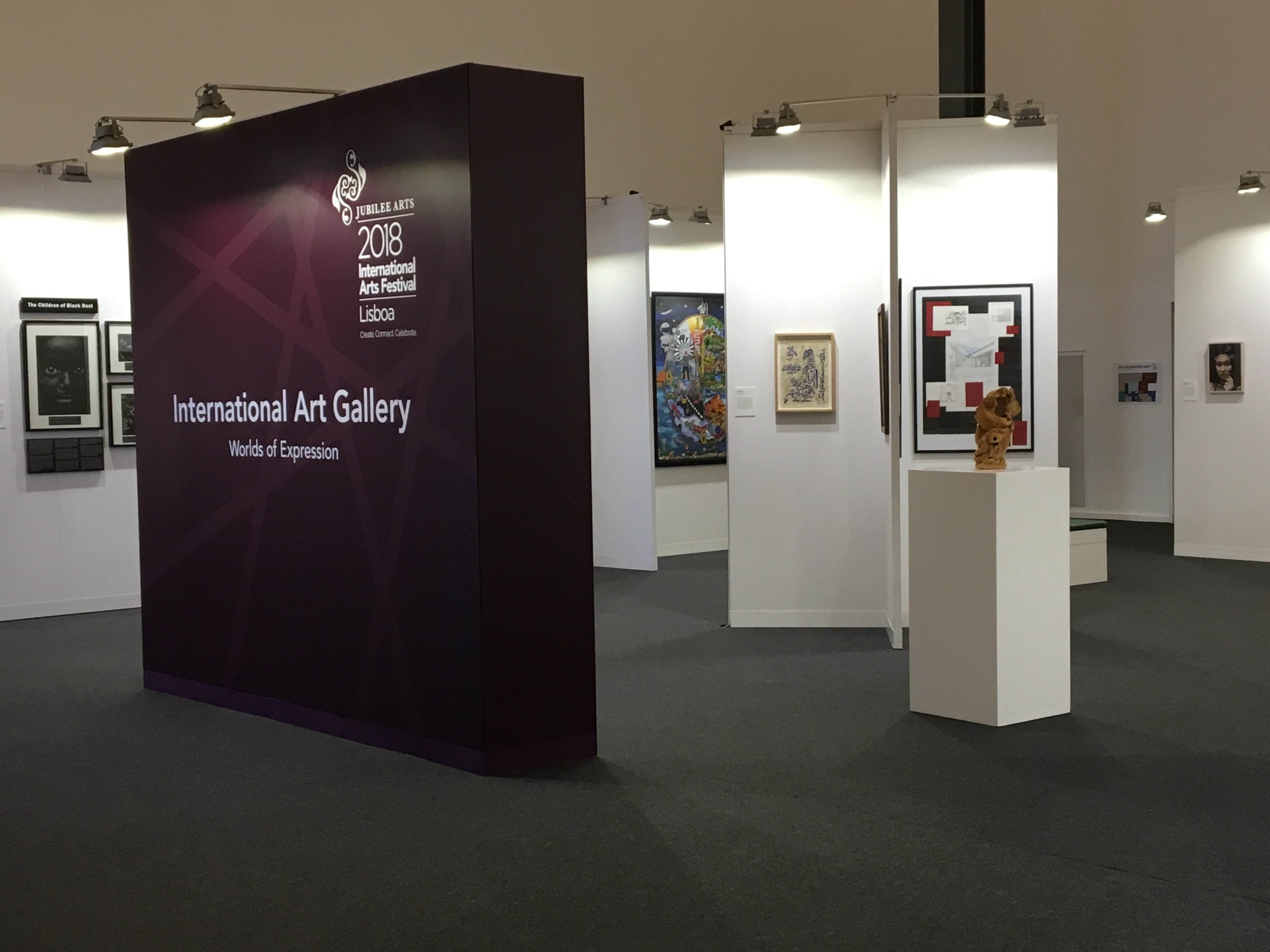 Perspectives on the International Art Gallery at the Aga Khan's Diamond Jubilee Celebrations in Lisbon