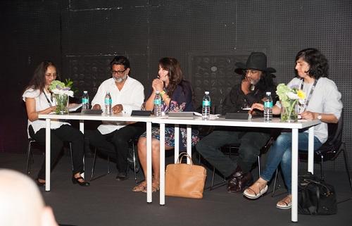 Yasmin Jiwani and panel