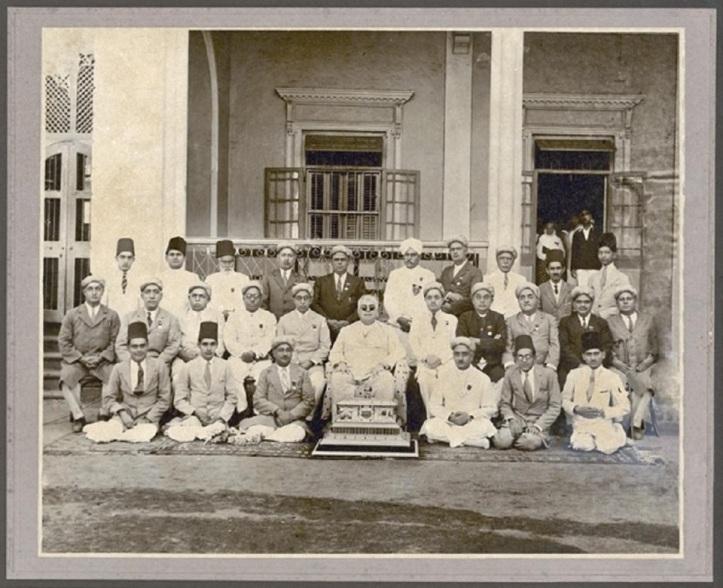 aga-khan-Golden Jubilee Casket by missionaries