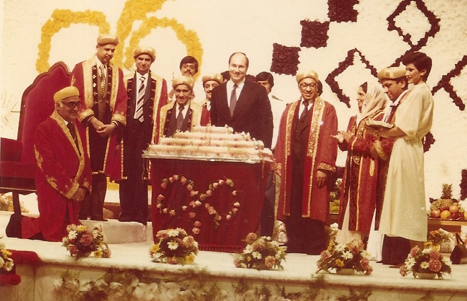 Flashback 1978: Mawlana Hazar Imam's historic first visit to Canada included a cake cutting ceremony to celebrate his 42nd birthday