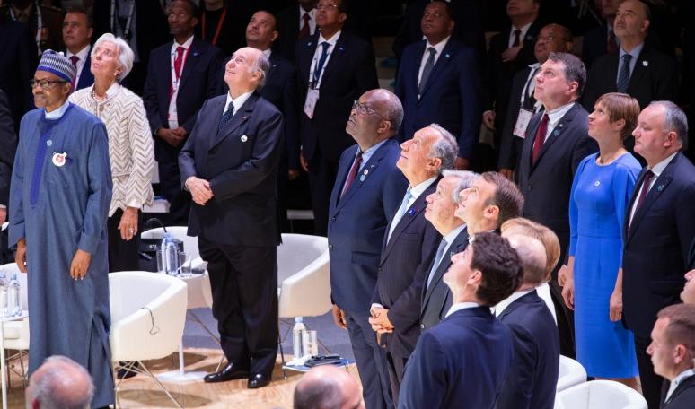 Aga Khan at 2018 Paris Peace Forum Barakah