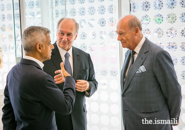 20180626_aga khan prince amyn and london mayor at opening of aga khan centre