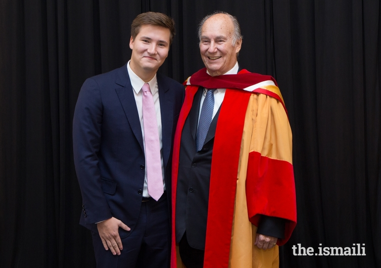 mawlana hazar imam and prince aly muhammad university of calgary 2018