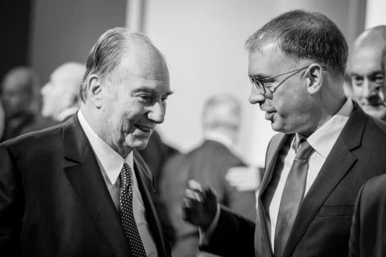niels annen with his highness the aga khan