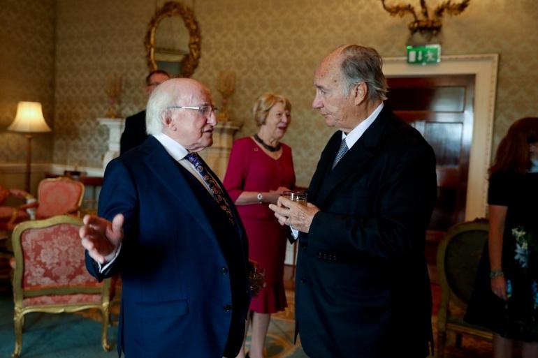 president higgins meets with prince shah karim al hussaini, aga khan iv_5m