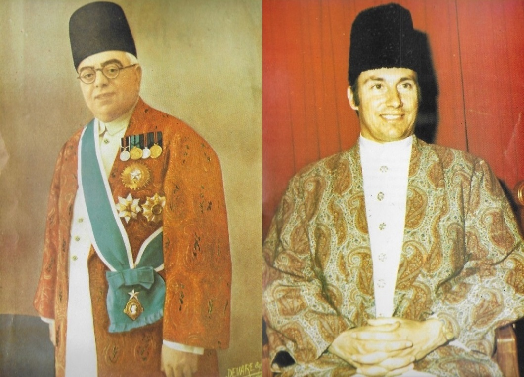 His Highness the Aga Khan III and His Highness the Aga Khan IV