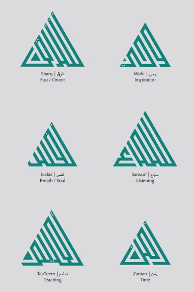 Aga Khan Music Awards Logo Attributes