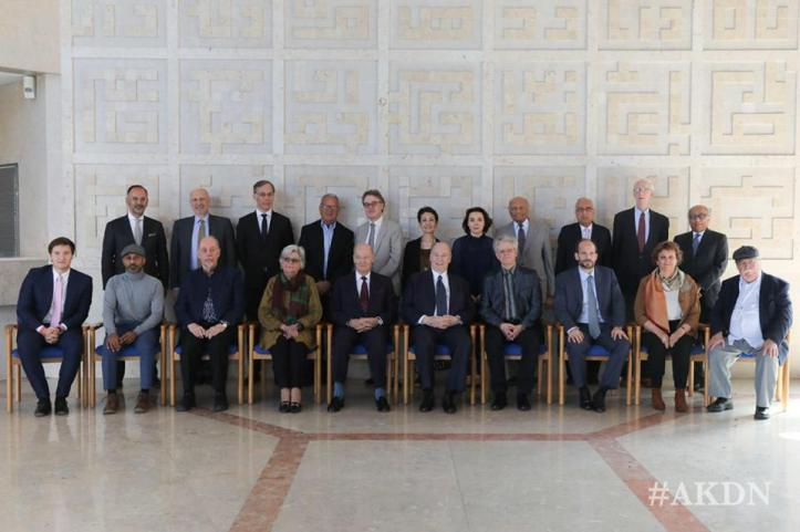 Aga Khan with Steering Committee and Master Jury of Music Awards at Lisbon Ismaili Centre