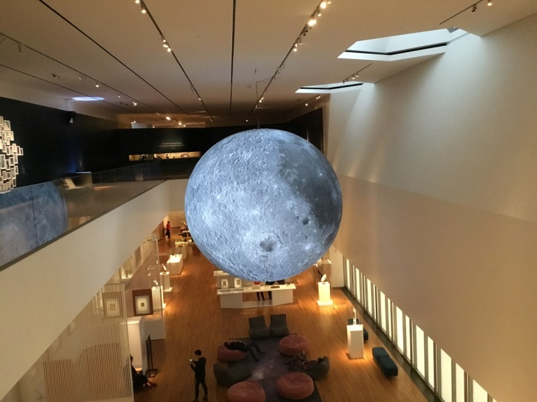 Moon sculpture rendition Aga Khan Museum 2019 photo 1