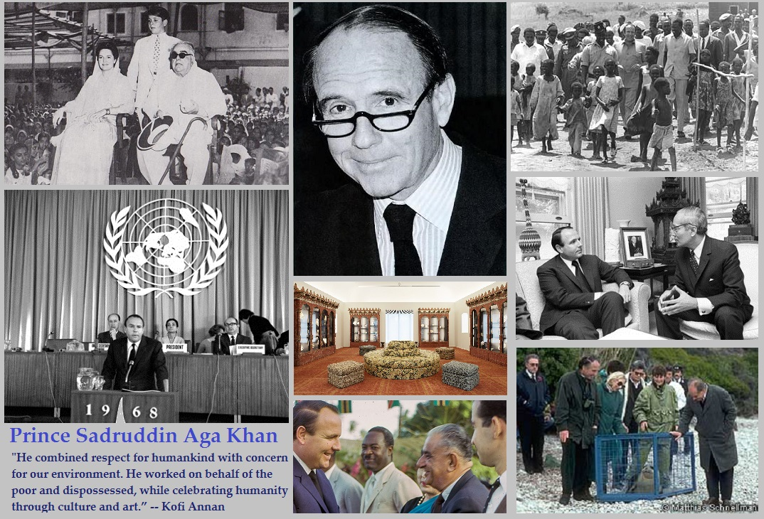 Prince Sadruddin Aga Khan's holistic view of the world and his words of wisdom to Ismailis