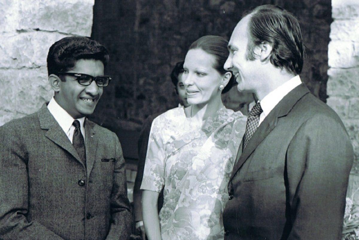 Aga Khan, Begum Salimah and Sultan Jessa