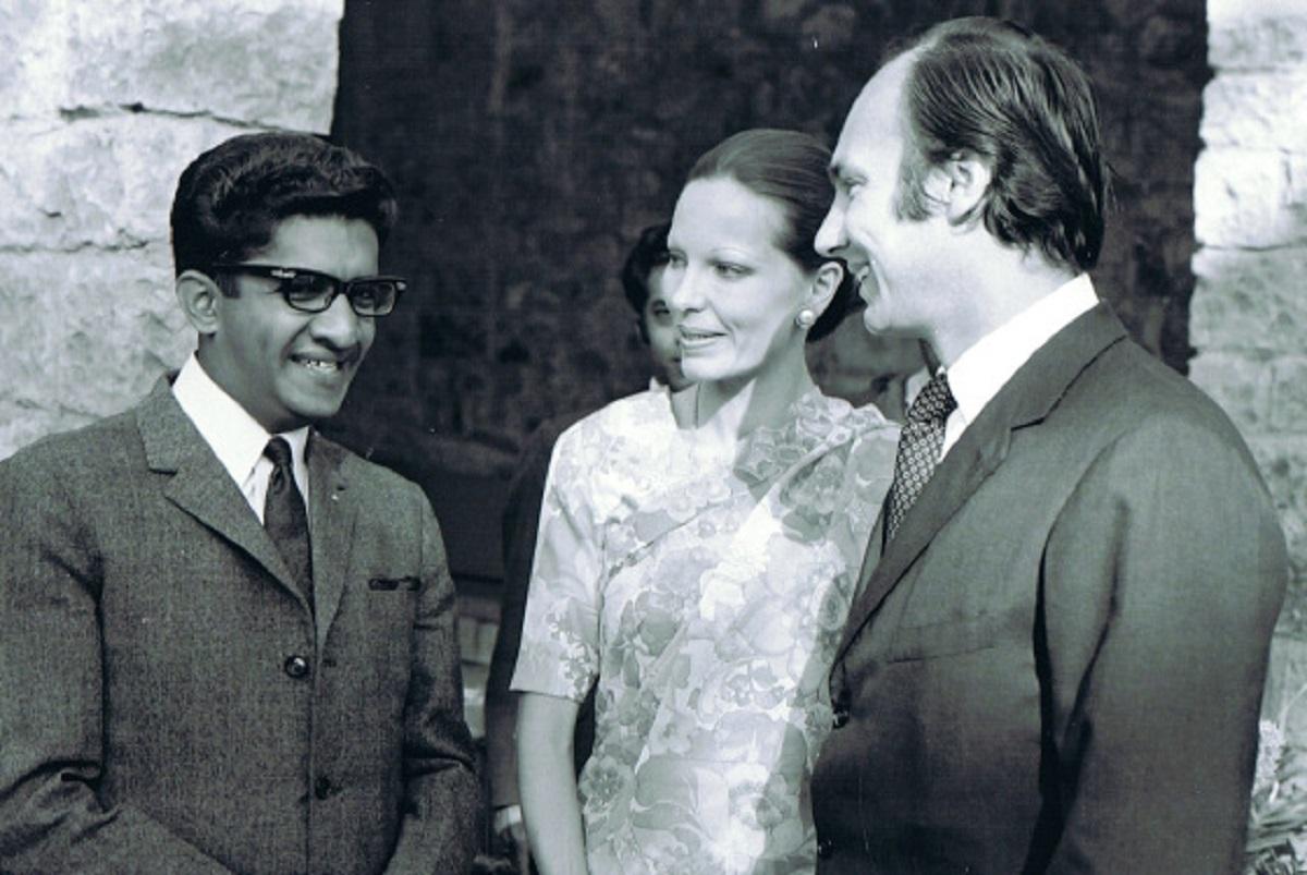 Aga Khan, Begum Salimah and Sultan Jessa