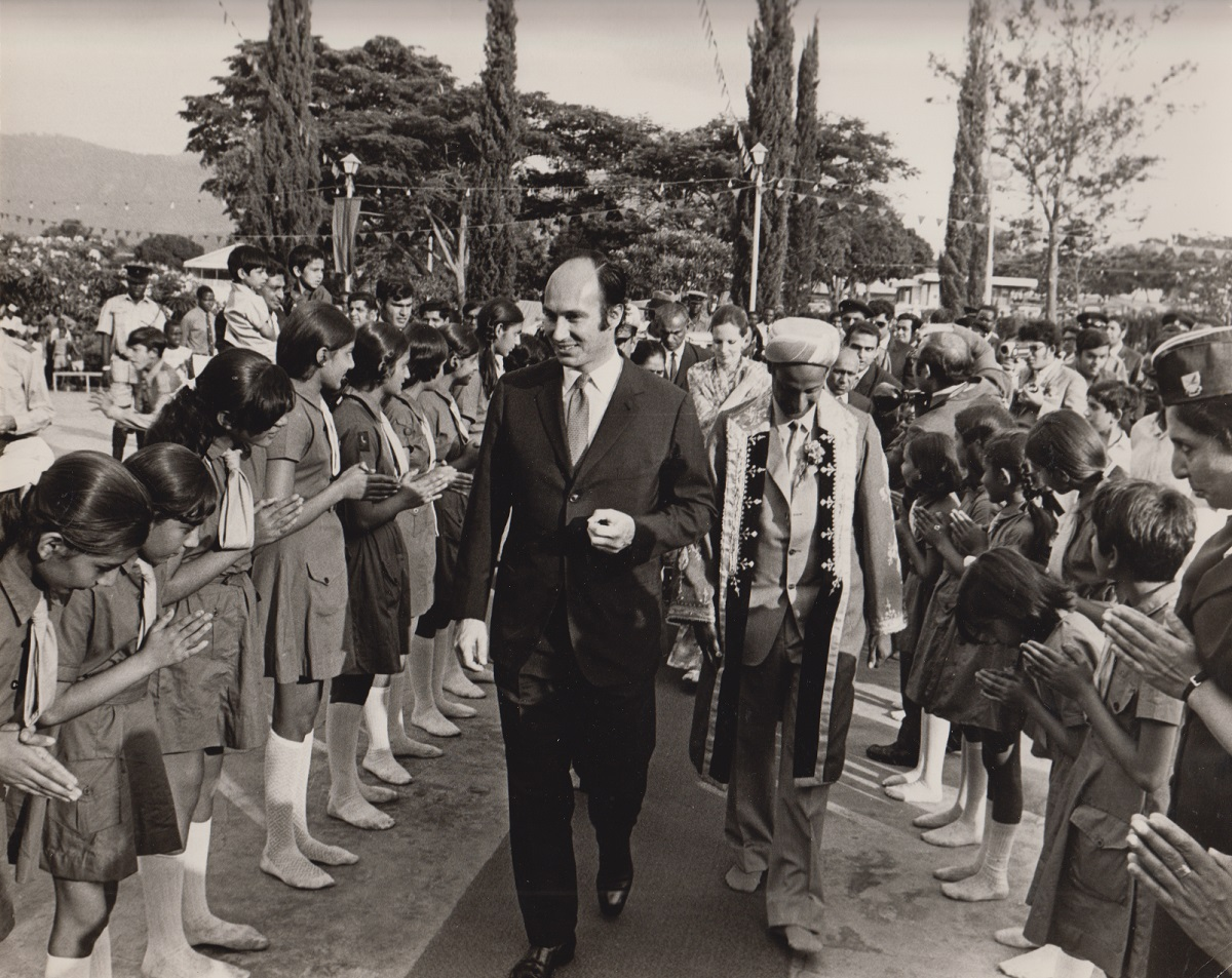 Photos of His Highness the Aga Khan from the collection of veteran Ismaili journalist (Late) Sultan Jessa, Order of Canada