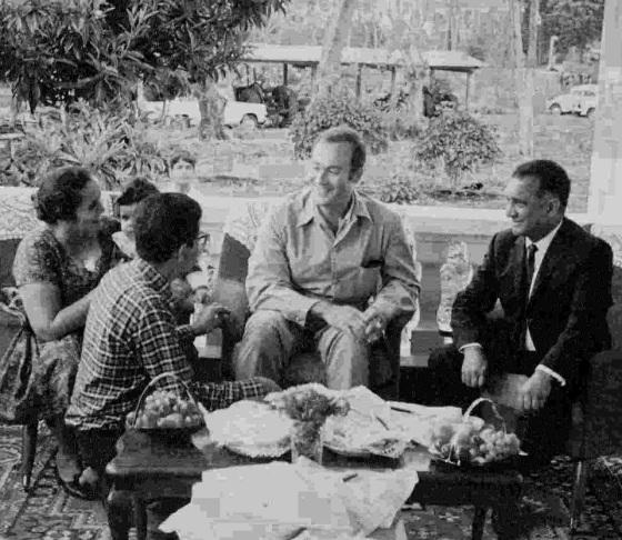 Prince Amyn with family of Sultan Jessa in Arusha, Tanzania