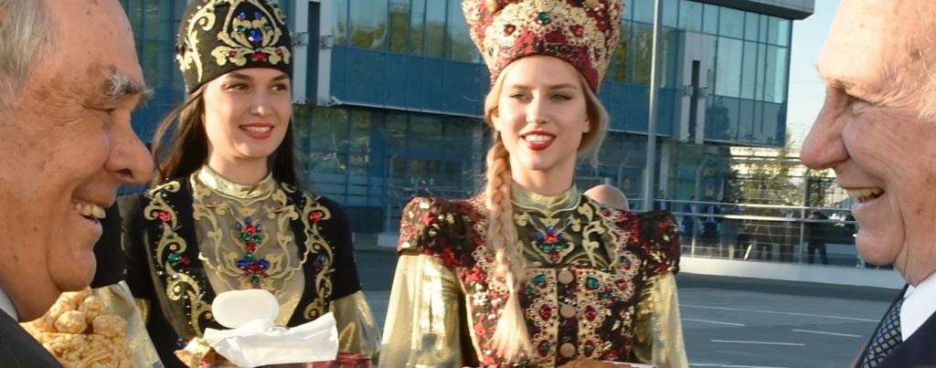Aga Khan in Kazan, Tatarstan