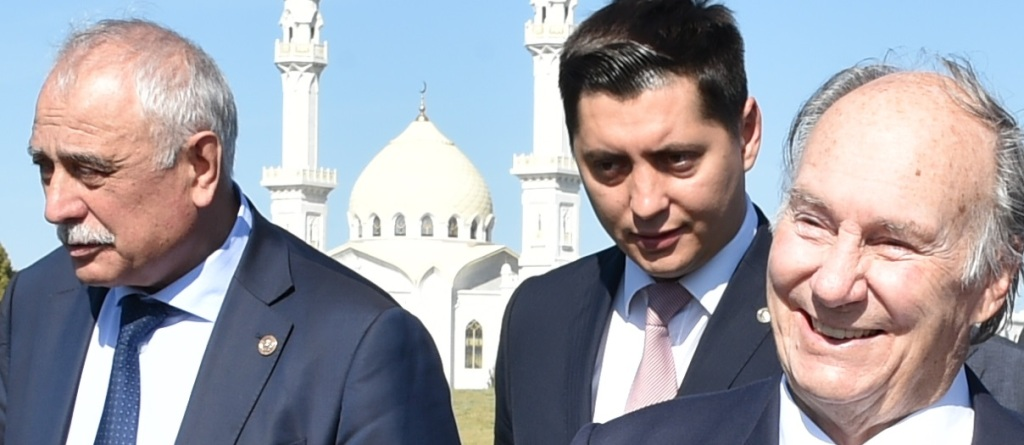 Aga Khan in Bolgar, Tatarstan