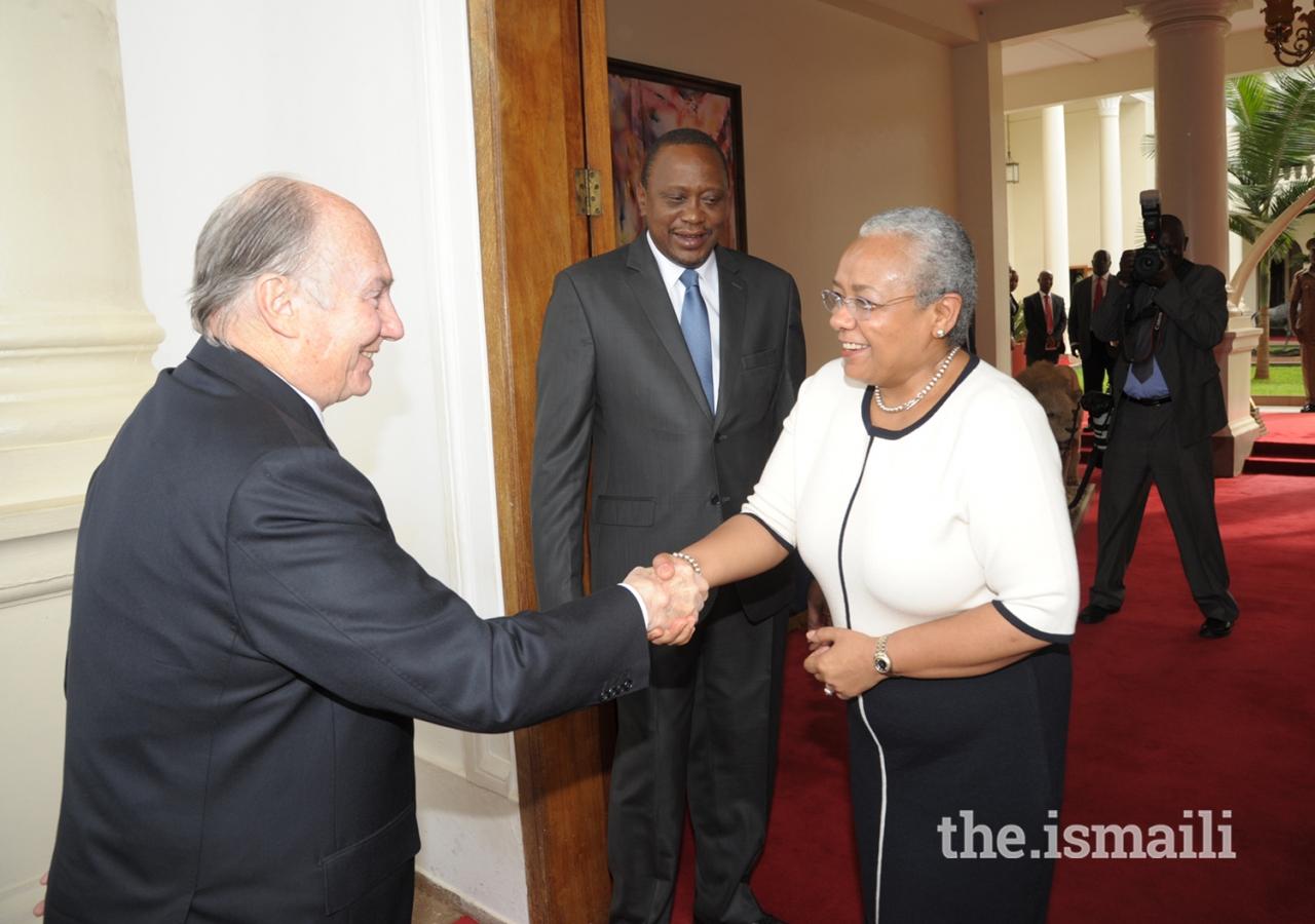 Aga Khan State House visit Kenya, Diamond Jubilee Barakah