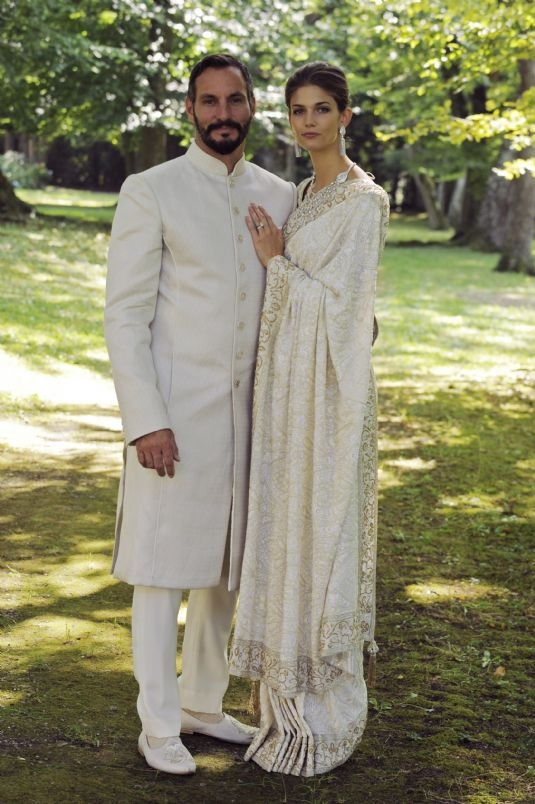 Prince Rahim and Princess Salwa Aga Khan