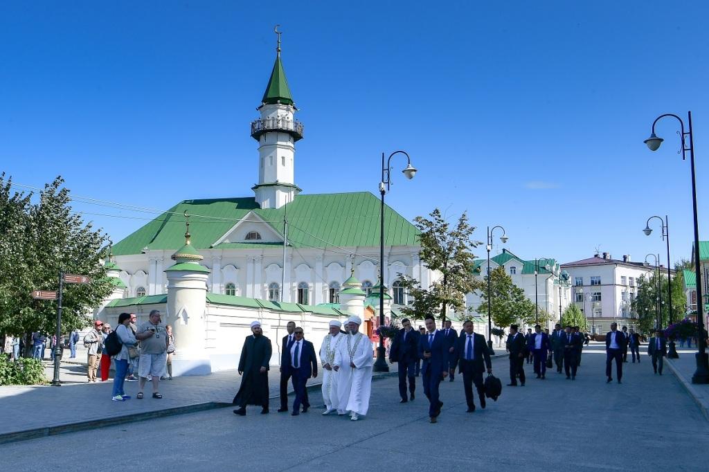 Al-Mardzhani mosque in Kazan