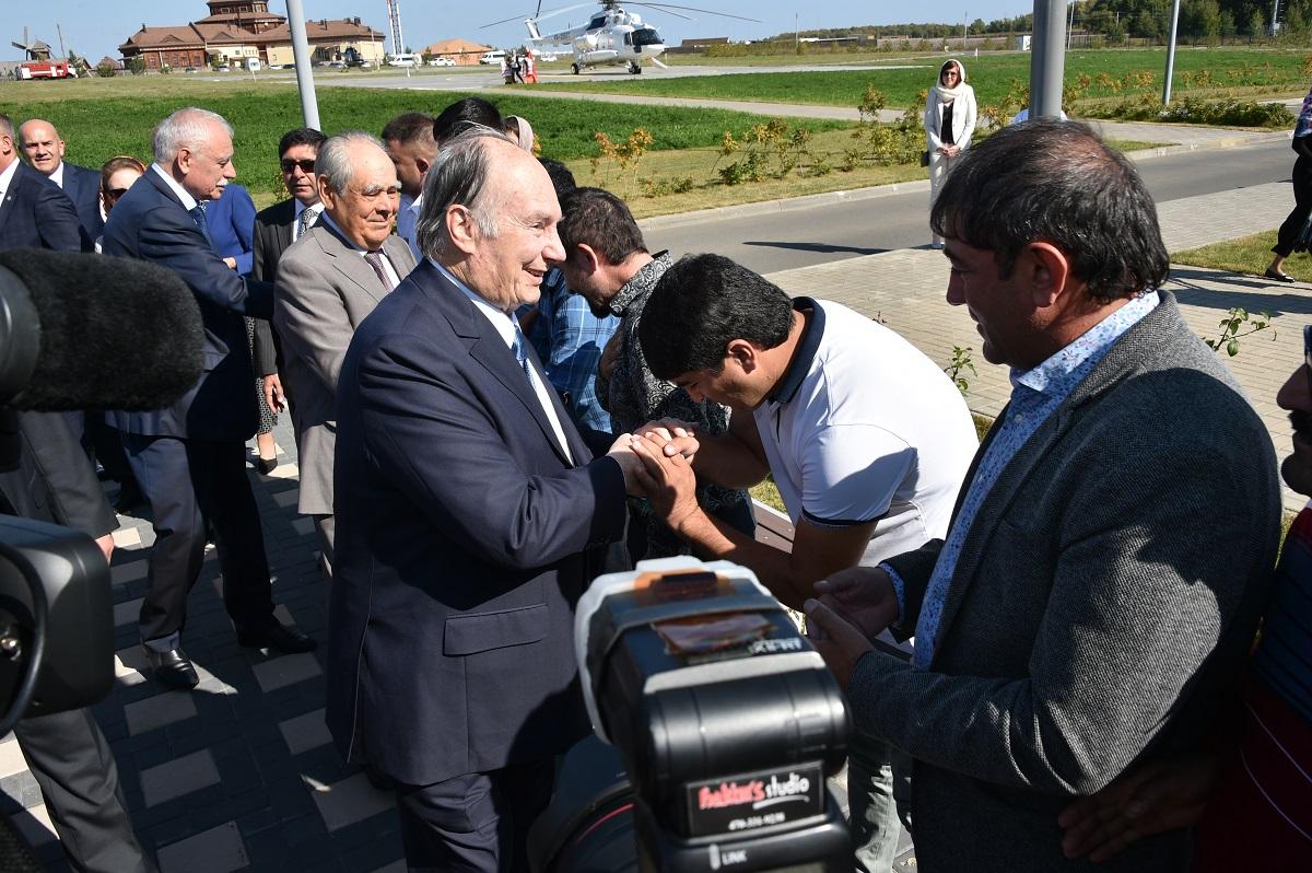 Aga Khan in Bolgar