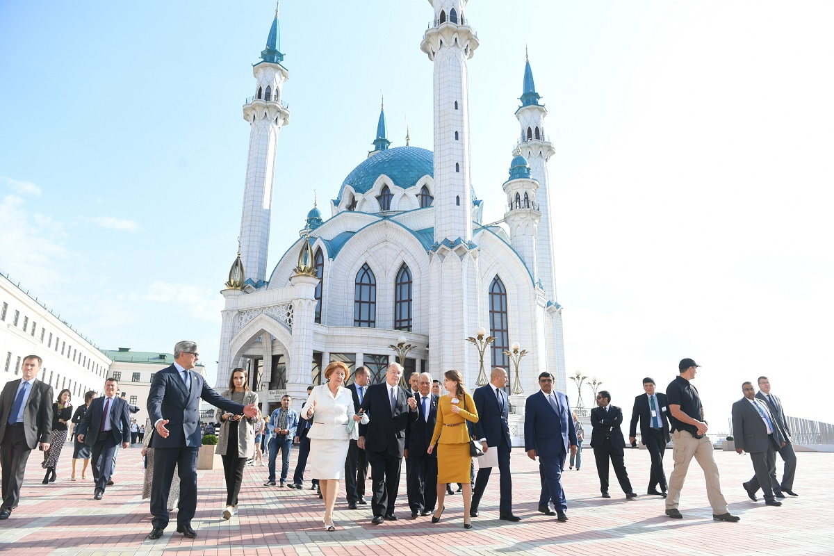 Day 3 of His Highness the Aga Khan's visit to Tatarstan; Videos and photos of visit to Kazan Kremlin, and 2019 Aga Khan Award for Architecture ceremony