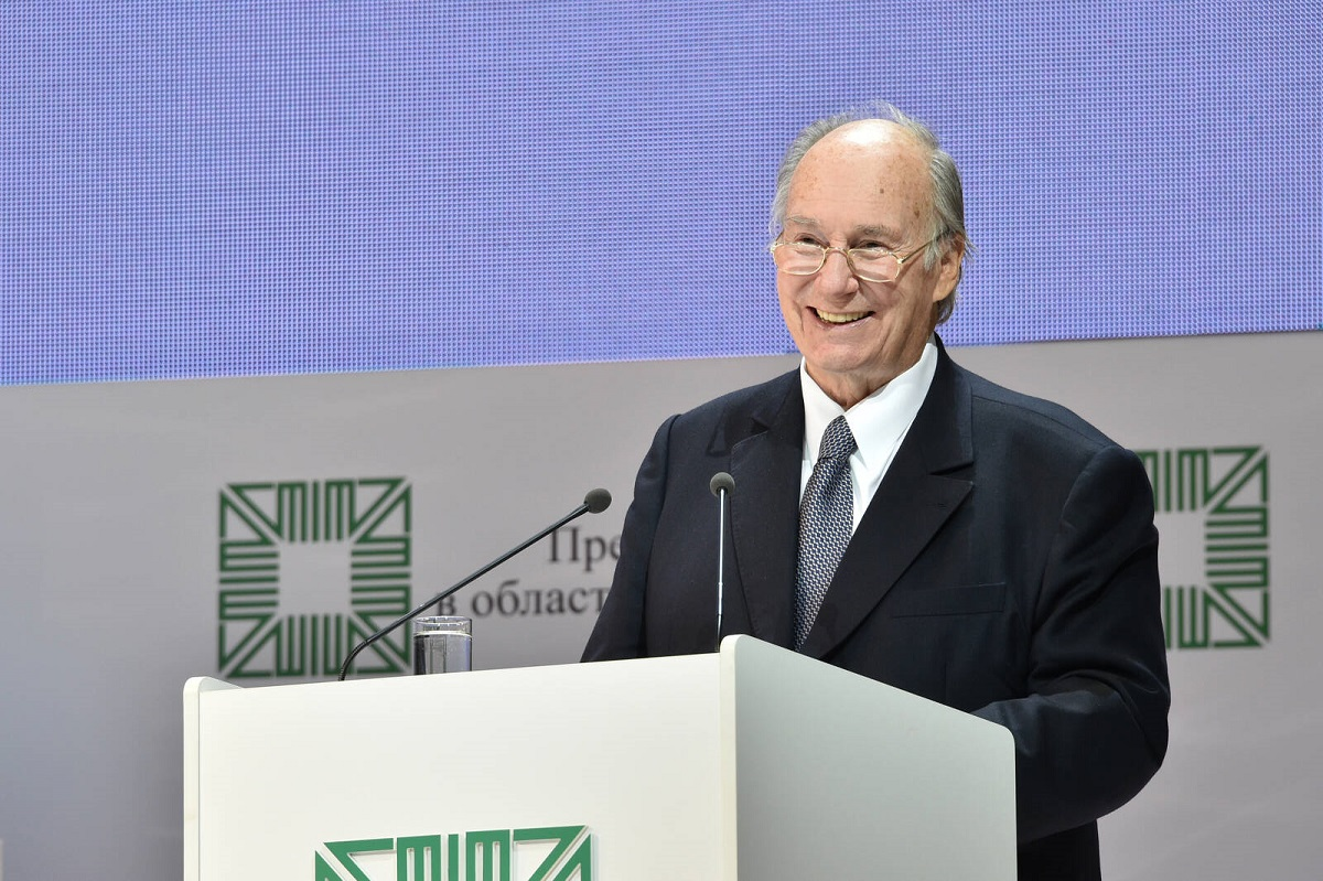 Aga Khan in Kazan Aga Khan Award 2910