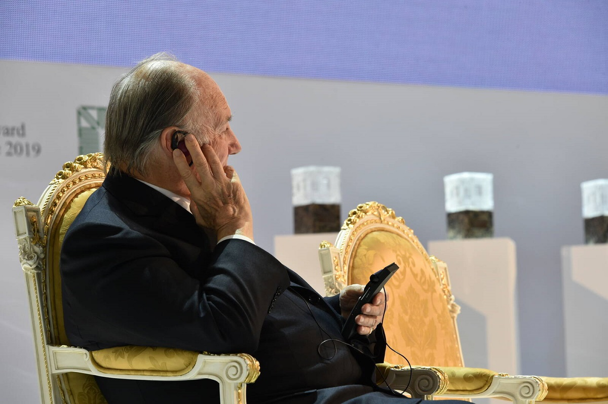 Aga Khan in Kazan Aga Khan Award Ceremony