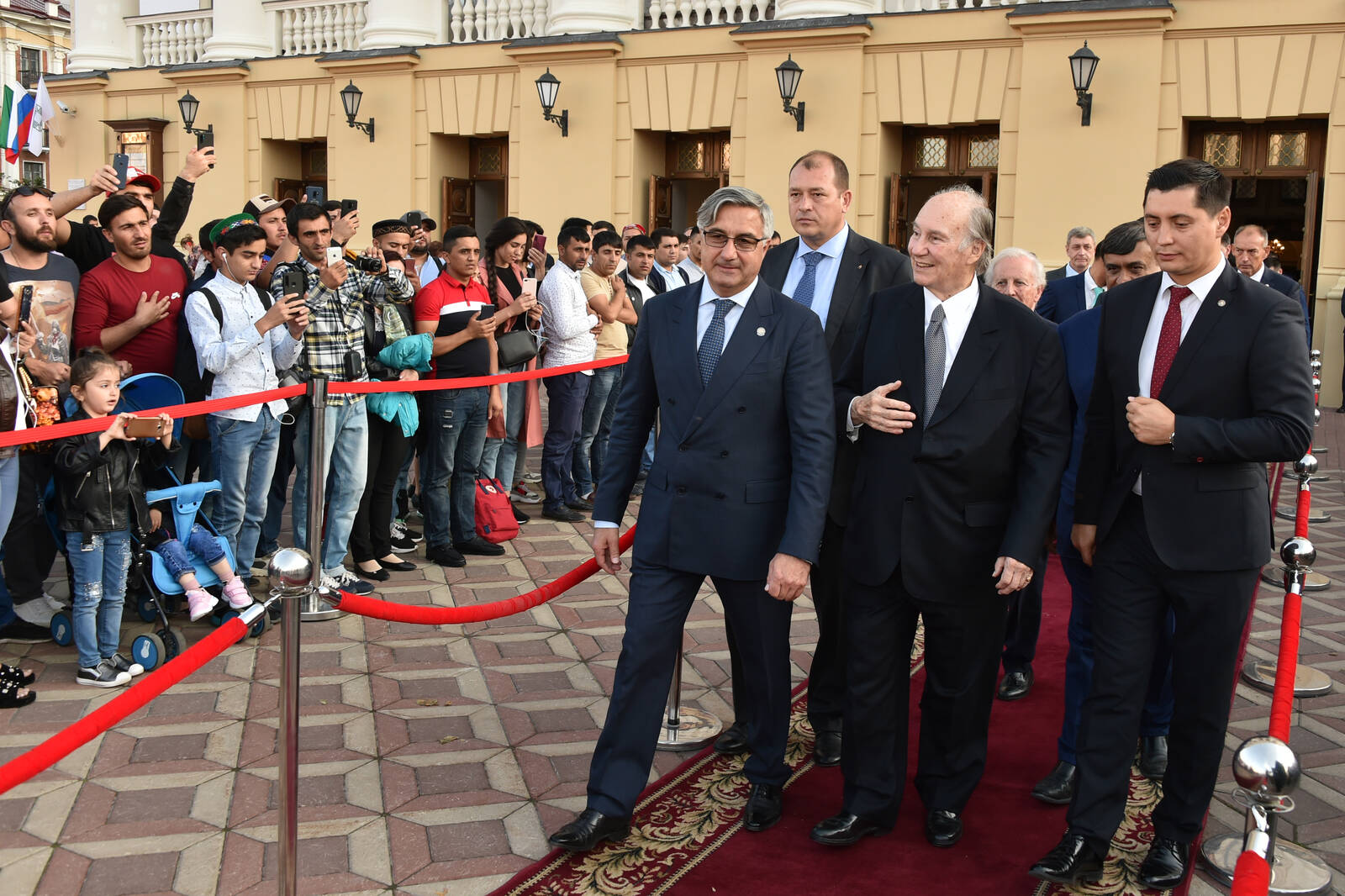 Aga Khan in Kazan for 2019 AKAA Ceremony