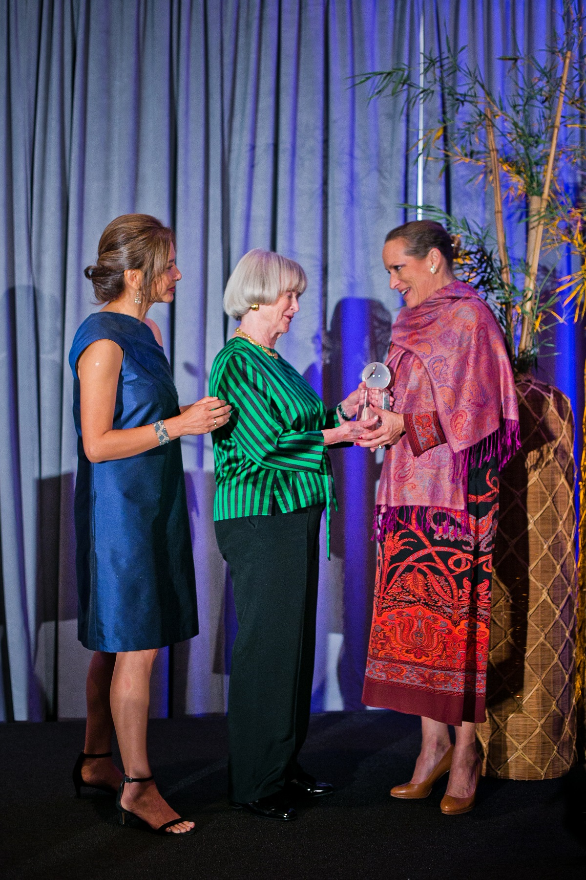 Asia Society Texas Center Honours Princess Zahra Aga Khan with Huffington Award, October 10 2019