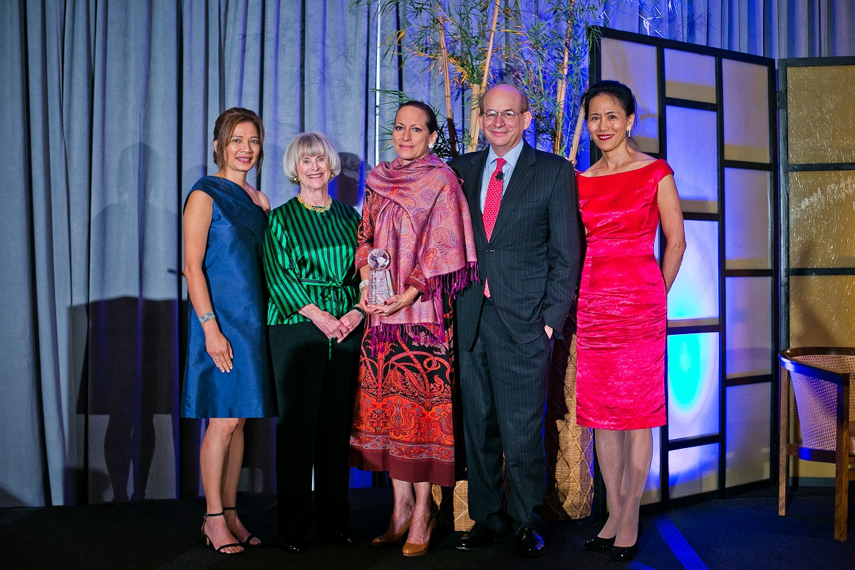 Asia Society Texas Center Huffington Award  to Princess Zahrra Aga Khan, October 10, 2019.