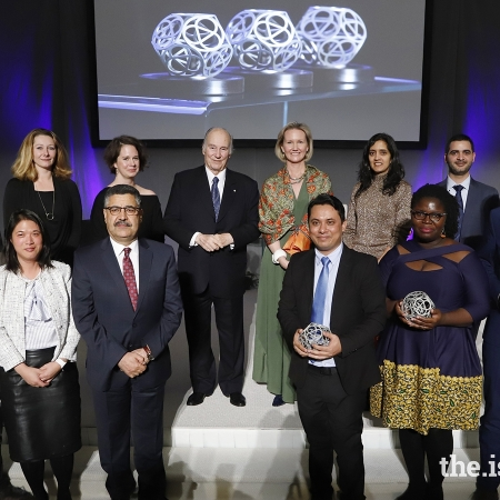 2019 Global Pluralism Award Winners and Honourable mentions with Aga Khan