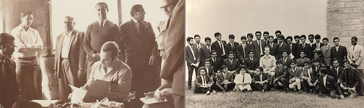 Prince Amyn Aga Khan Arusha and Egerton College visit 1968 Barakah and Simerg photos