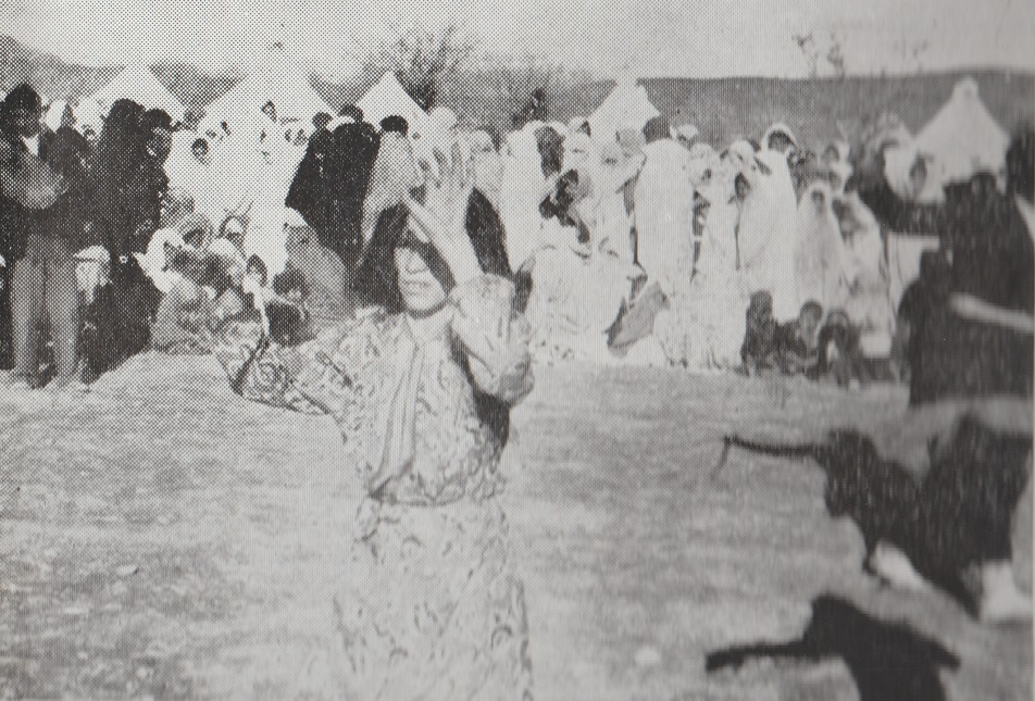 Ismailis celebrating the Aga Khan's visit to Mahallat 1951 Barakah